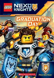 LEGO 16093 - LEGO Nexo Knights könyv - Graduation Day (angol)