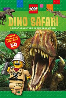 LEGO 16095 - LEGO könyv - Dino Safari (angol)
