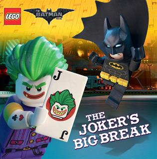LEGO 16096 - LEGO The Batman Movie könyv - The Joker's Big Break