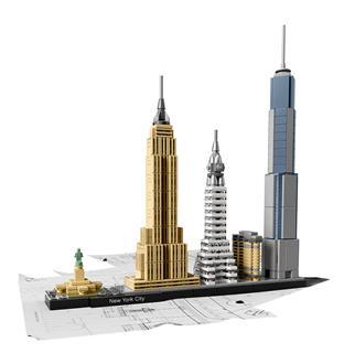 LEGO 21028 - LEGO Architecture - New York
