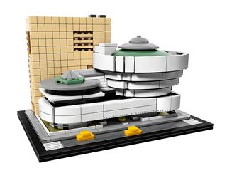 LEGO 21035 - LEGO Architecture - Solomon R. Guggenheim múzeum
