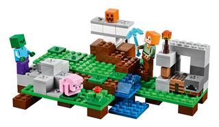 LEGO 21123 - LEGO Minecraft - A vasgólem