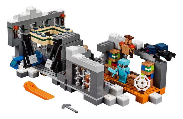 LEGO 21124 - LEGO Minecraft - A végzetportál