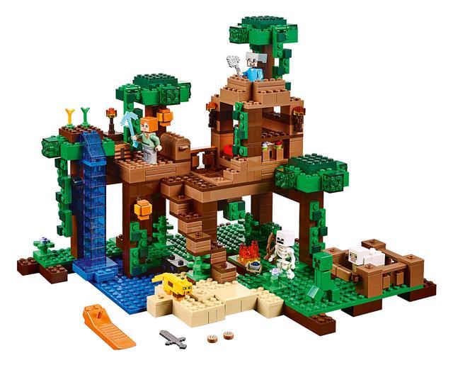 LEGO 21125 - LEGO Minecraft - Lombház a dzsungelben