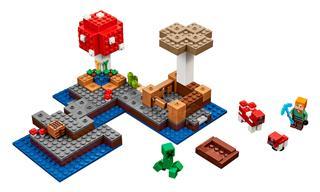 LEGO 21129 - LEGO Minecraft - A gombasziget