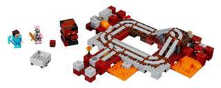 LEGO 21130 - LEGO Minecraft - Alvilági vonat