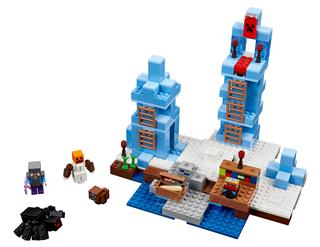 LEGO 21131 - LEGO Minecraft - A jégtüskék