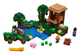 LEGO 21133 - LEGO Minecraft - A boszorkánykunyhó