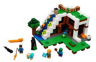 LEGO 21134 - LEGO Minecraft - A vízesés bázis
