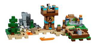 LEGO 21135 - LEGO Minecraft - Crafting láda 2.0