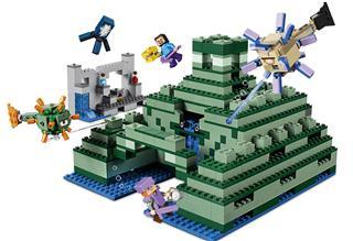 LEGO 21136 - LEGO Minecraft - Emlékmű az óceán partján