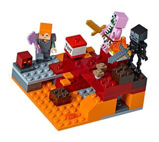 LEGO 21139 - LEGO Minecraft - Az alvilági harc