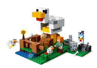 LEGO 21140 - LEGO Minecraft - Csirkeudvar