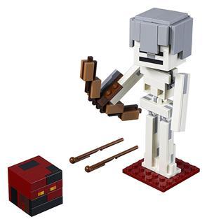 LEGO 21150 - LEGO Minecraft - Minecraft™ BigFig Csontváz magmakoc...