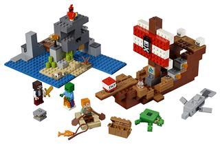 LEGO 21152 - LEGO Minecraft - A kalózhajós kaland