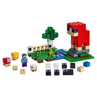 LEGO 21153 - LEGO Minecraft - A gyapjúfarm