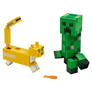 LEGO 21156 - LEGO Minecraft - BigFig Creeper™ és Ocelot