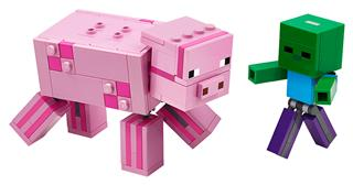 LEGO 21157 - LEGO Minecraft - BigFig malac Zombibabával