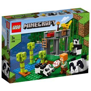 LEGO 21158 - LEGO Minecraft - A pandabölcsőde