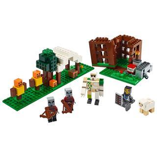 LEGO 21159 - LEGO Minecraft - A Fosztogató őrtorony