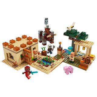LEGO 21160 - LEGO Minecraft - A falusi rajtaütés