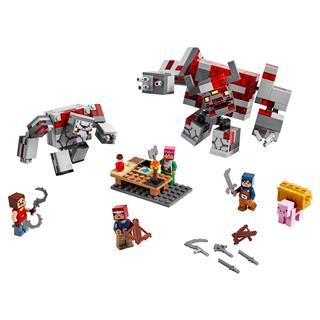 LEGO 21163 - LEGO Minecraft - A Vöröskõ csata