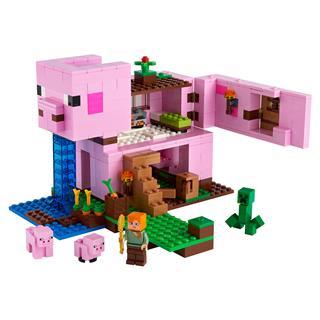LEGO 21170 - LEGO Minecraft - A malac háza