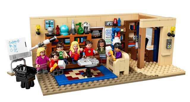 LEGO 21302 - LEGO Ideas - The Big Bang Theory - Agymenők