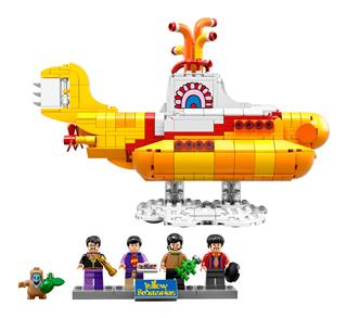 LEGO 21306 - LEGO Ideas - The Beatles Yellow Submarine