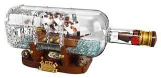LEGO 21313 - LEGO Ideas - Hajó a palackban