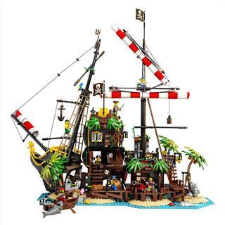 LEGO 21322 - LEGO Ideas - Barracuda öböl kalózai