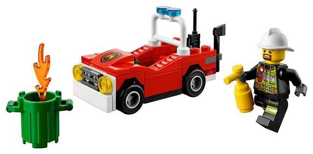 LEGO 30347 - LEGO City - Tűzoltókocsi