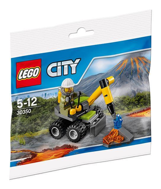LEGO 30350 - LEGO City - Vulkán légkalapács