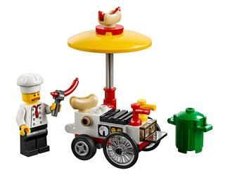 LEGO 30356 - LEGO City - Hotdog árus