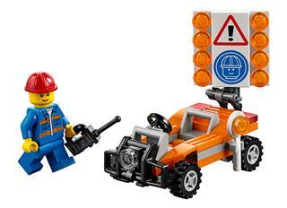 LEGO 30357 - LEGO City - Útépítő munkás