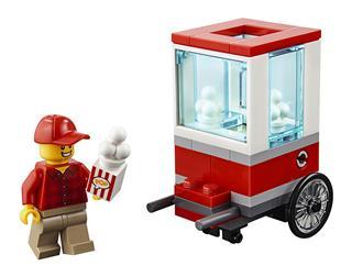 LEGO 30364 - LEGO City - Pattogatott kukoricás kocsi