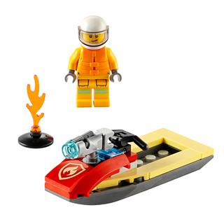 LEGO 30368 - LEGO City - Tűzoltósági Jetski
