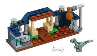 LEGO 30382 - LEGO Jurassic World - Bébi Velociraptor gondozó