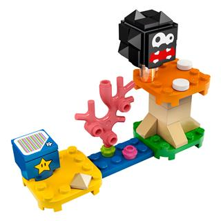 LEGO 30389 - LEGO Super Mario - Fuzzy és Gomba emelvény kiegészít...