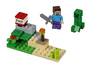 LEGO 30393 - LEGO Minecraft - Steve és Creeper szett