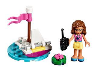 LEGO 30403 - LEGO Friends - Olívia távirányítású hajója