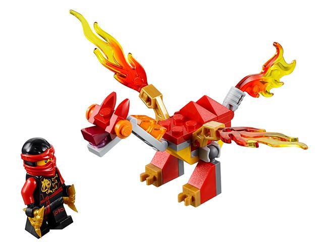 LEGO 30422 - LEGO Ninjago - Kai mini sárkányrepülője