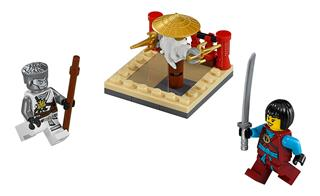 LEGO 30425 - LEGO Ninjago - A cru mesterek gyakorlótere