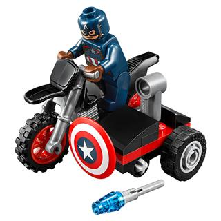 LEGO 30447 - LEGO Super Heroes - Amerika kapitány motorbiciklije