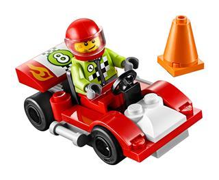 LEGO 30473 - LEGO Juniors - Versenyautó