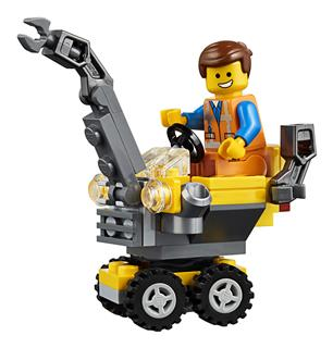 LEGO 30529 - The LEGO Movie 2 - Emmet a mini építőmester