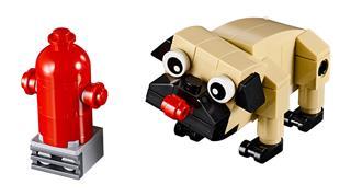 LEGO 30542 - LEGO Creator - Aranyos mopszli