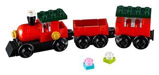 LEGO 30543 - LEGO Creator - Karácsonyi mini vonat
