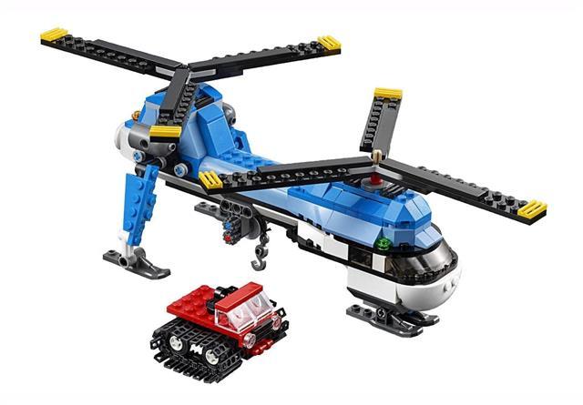 LEGO 31049 - LEGO Creator - Ikerrotoros helikopter