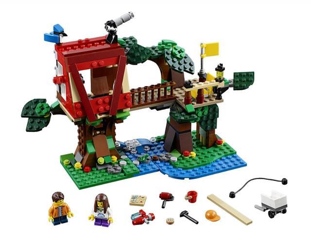 LEGO 31053 - LEGO Creator - Kalandok a lombházban